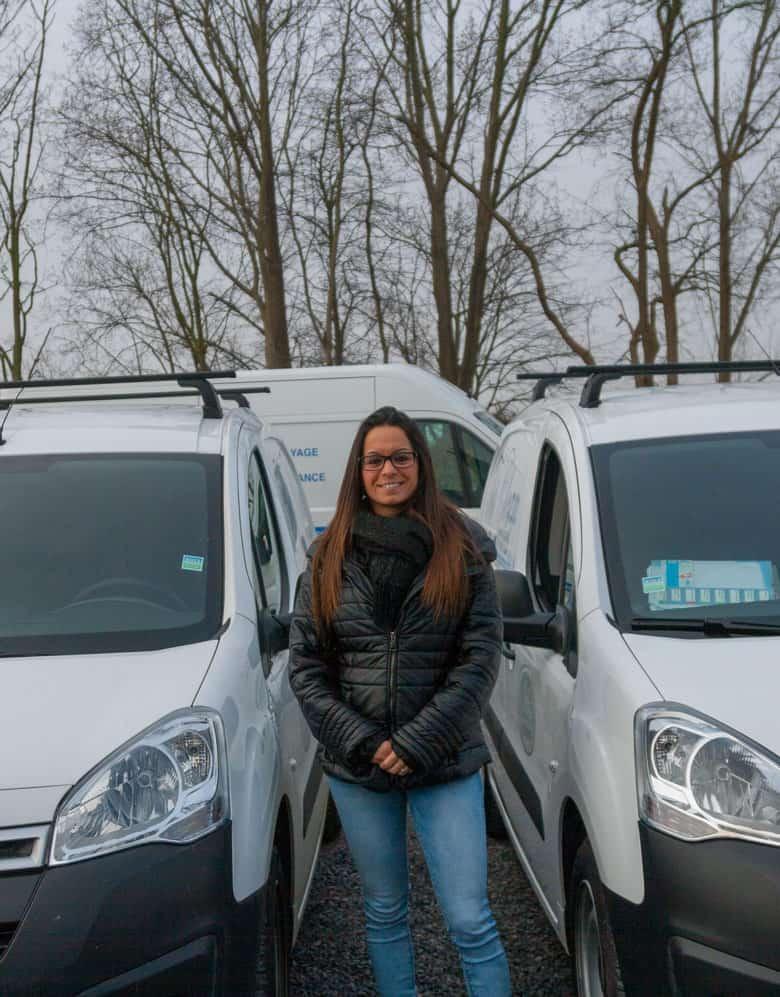 Crucke Nathalie, employé Topclean Services