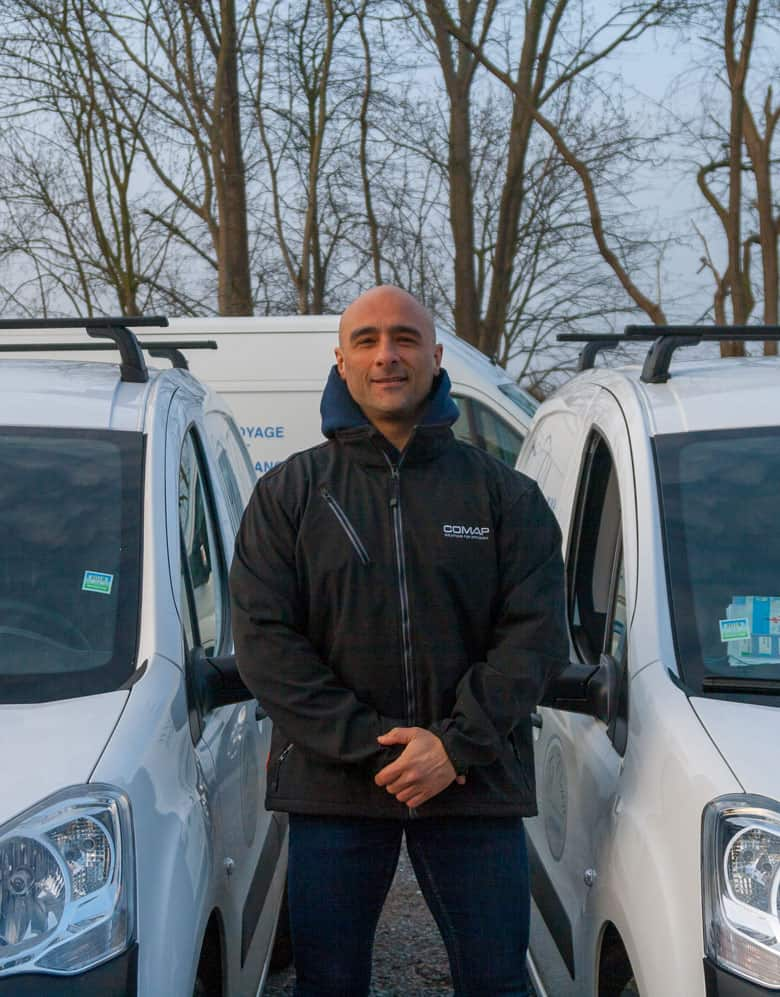 Lauria Olivier, employé Topclean Services