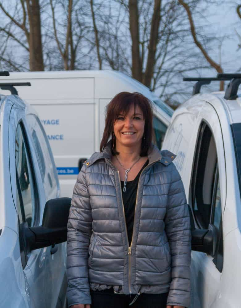Maillart Christelle, employé Topclean Services