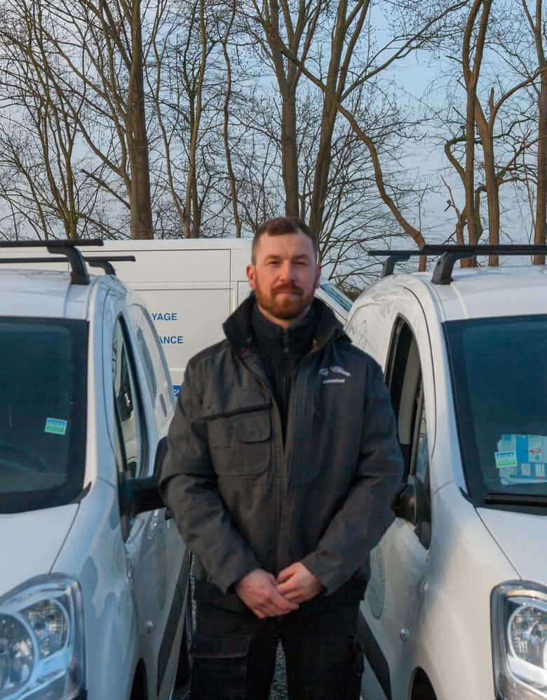 Mottard Andy, employé Topclean Services