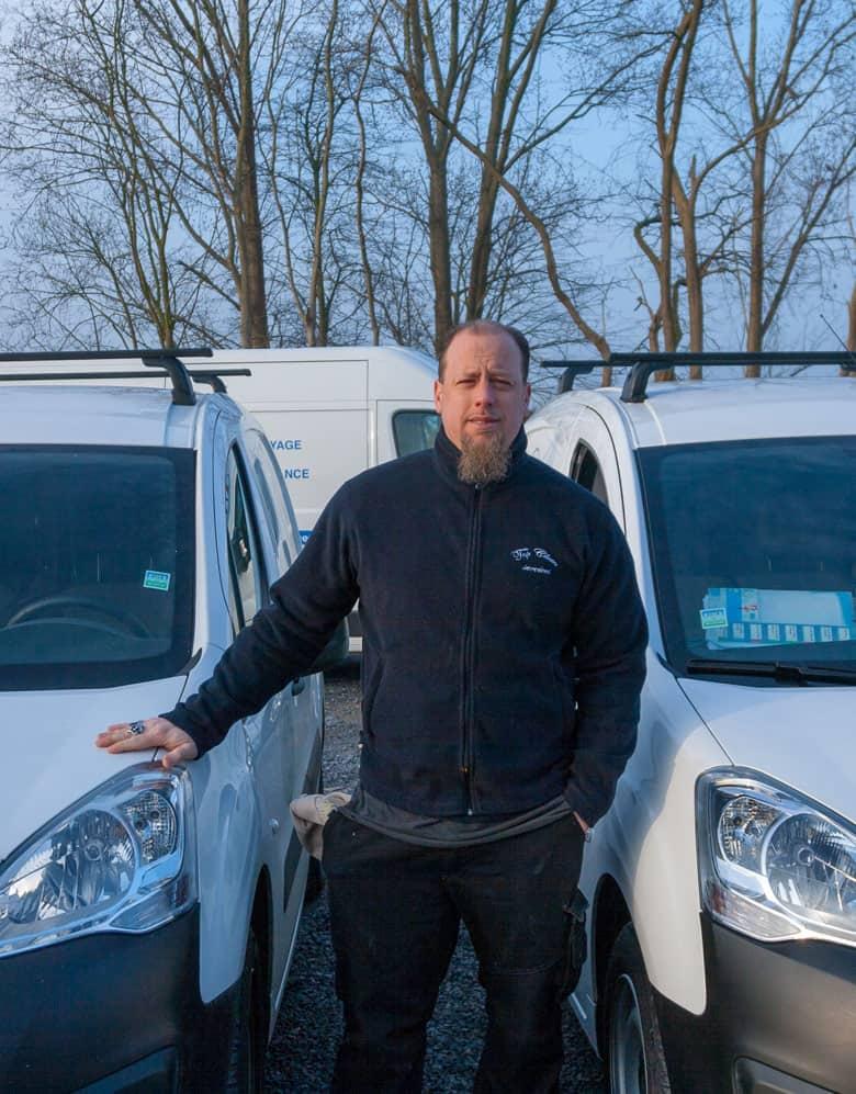 Siemens Marc, employé Topclean Services