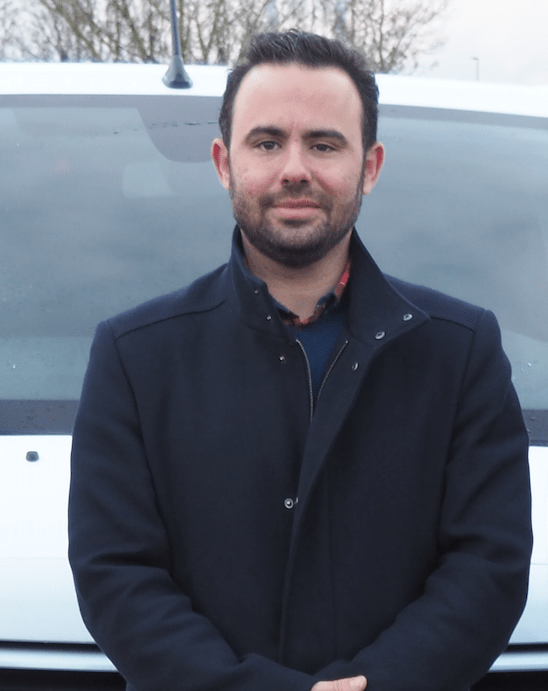 Philippe Rodrigues, employé Topclean Services